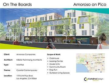 Amoroso on Pico, Amoroso Companies, Los Angeles, CA, Corporate and Commercial Interior Design
