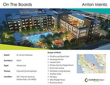 Anton Menlo, St. Anton Partners, Menlo Park, CA, Corporate and Commercial Interior Design