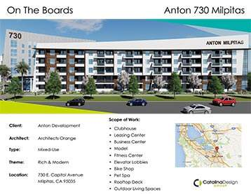 Anton 730 Milpitas Anton Development Milpitas, CA, Commercial Interior Design Projects