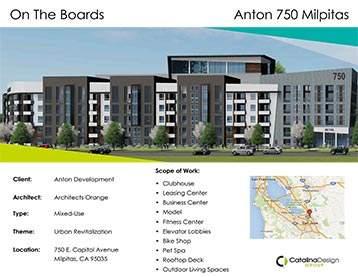 Anton 750 Milpitas Anton Development, Milpitas, CA, Commercial Interior Design Projects