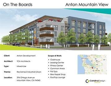 Anton Mountain View Anton Development, Mountain View, CA, Commercial Interior Design Projects