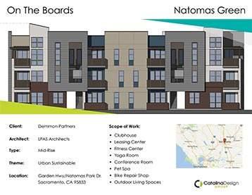 Natomas Green, Demmon Partners, Sacramento, CA, Commercial Interior Design Projects