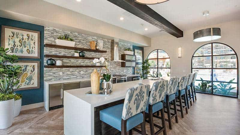 Multi family design trends for the clubhouse catalina for Multi family architecture