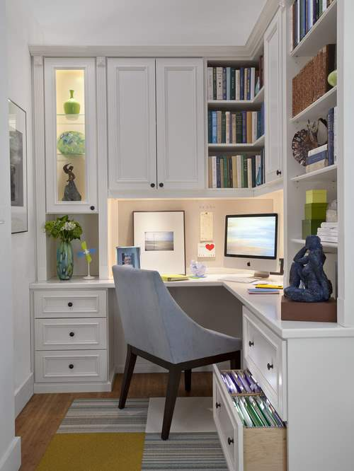 home office design for model